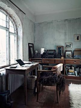 書斎,アンティーク,机,家具,ワークスペース